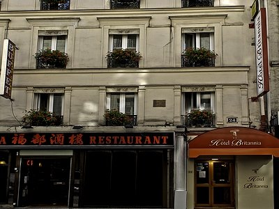 HOTEL BRITANNIA - PARIS (9EME ARDT) - 75-PARIS - ILE DE FRANCE
